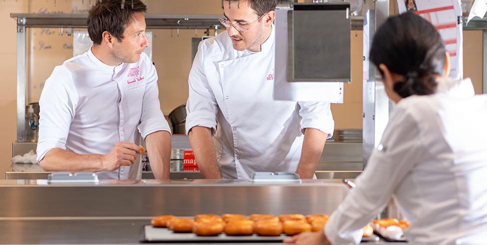 Journée portes ouvertes à Institut Culinaire de France