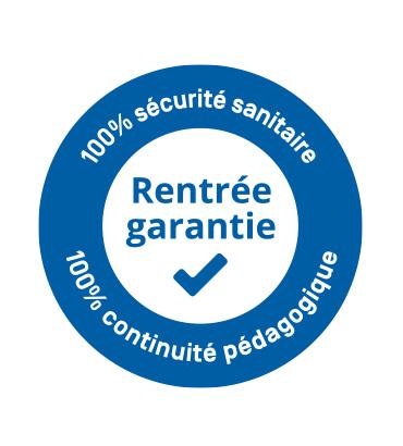 Rentrée garantie, 100% Sécurité sanitaire, 100% continuité pédagogique
