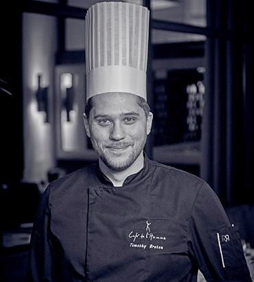 Timothy Breton Institut Culinaire de France
